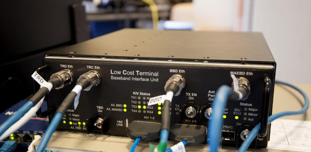 Industry Team Successfully Tests Low Cost Terminal with On-Orbit AEHF Satellite