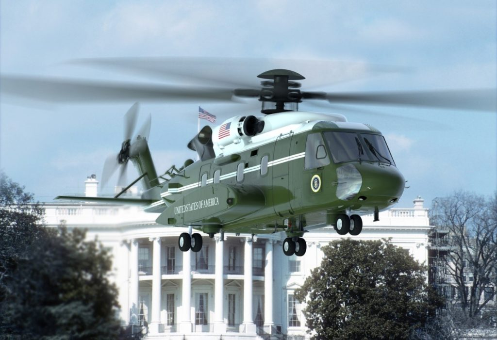 On July 28, the VH-92A configured test aircraft completed its first flight in support of the U.S. Marine Corps' VH-92A Presidential Helicopter Replacement Program