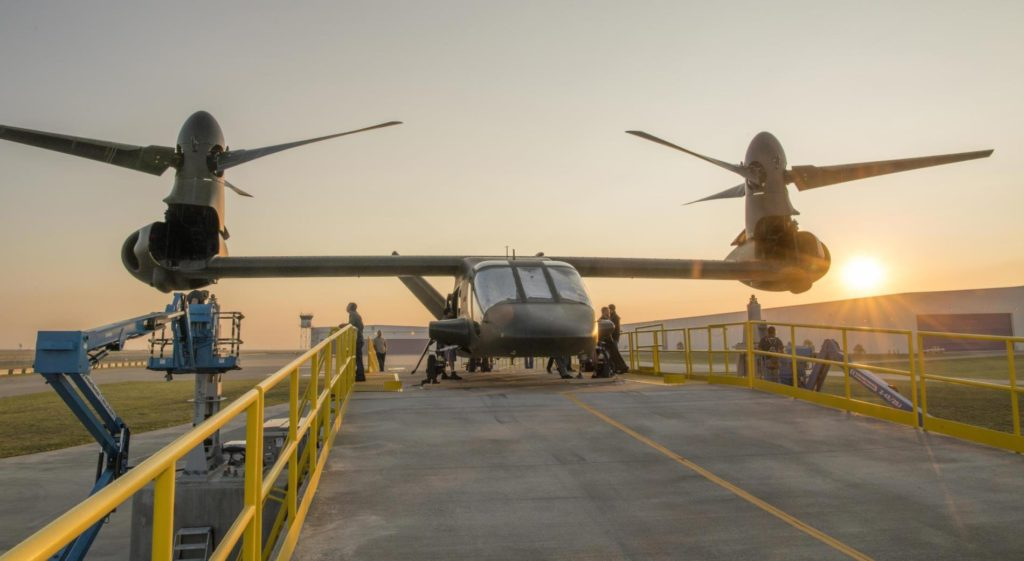 Bell Helicopter has completed assembly of its new tilt-rotor, the V-280 Valor, at its plant in Amarillo, Texas. It is due to make its first flight during the fall (Bell photo)
