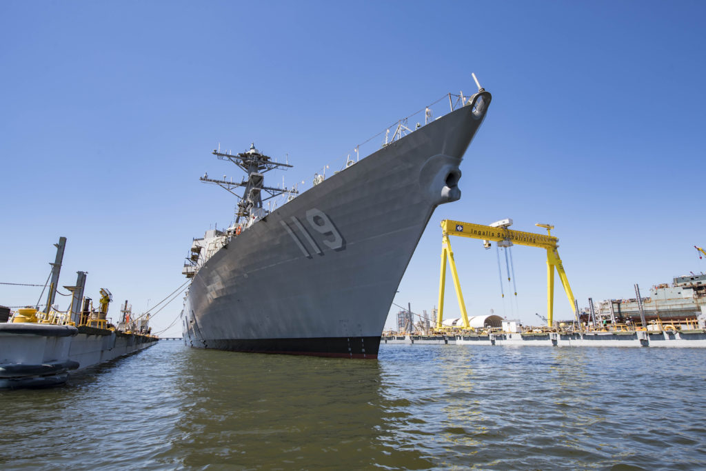 U.S. Navy Launches the Future USS Delbert D. Black (DDG-119)