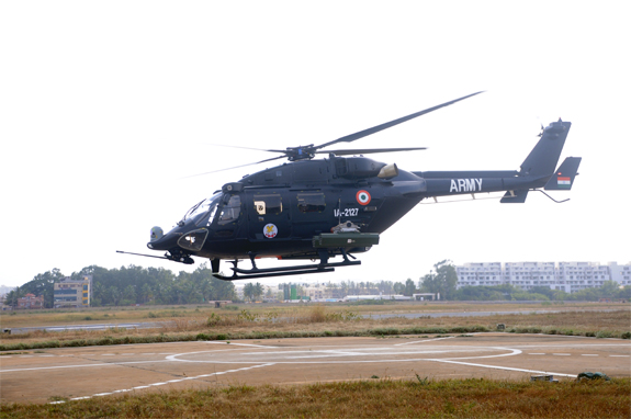 HAL Gets Orders for 41 Advanced Light Helicopters