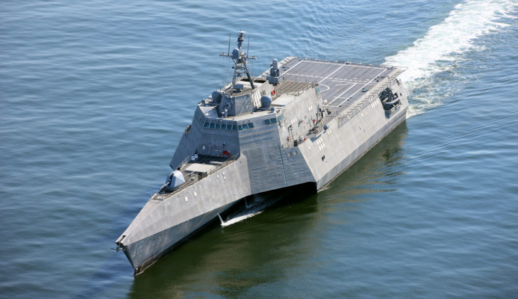 Omaha will be commissioned early next year and homeported in San Diego with Littoral Combat Ship Squadron One