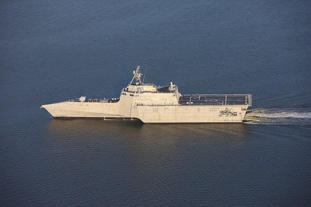 Navy accepts delivery of future USS Omaha (LCS-12)