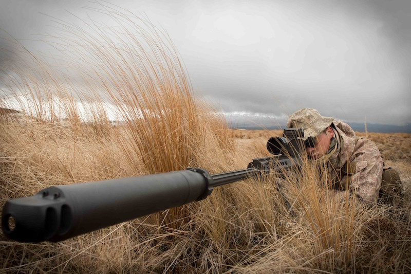 The New Zealand Defence Force is buying two new weapons, the Barrett M107A1 anti-materiel weapon and the Barrett Multi Role Adaptive Design (MRAD) sniper rifle