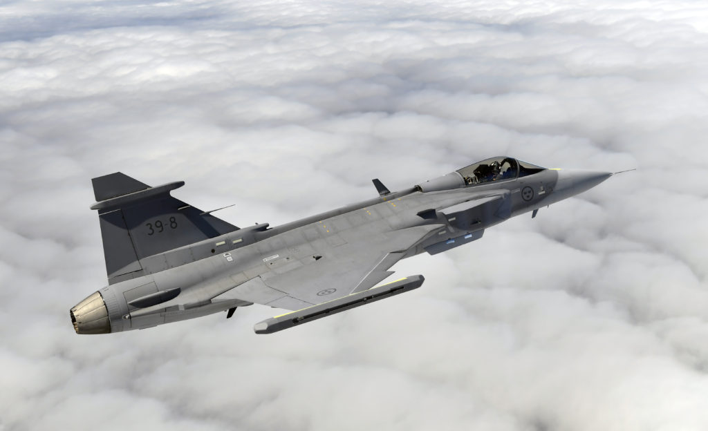 Gripen E Goes Supersonic