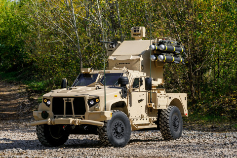 Oshkosh Defense showcases JLTV vehicles with next generation weapon integration capabilities at AUSA 2017