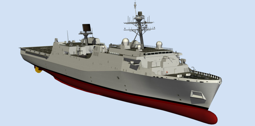 Fort Lauderdale is a «transitional ship» between the current San Antonio-class design and future LX(R) vessels