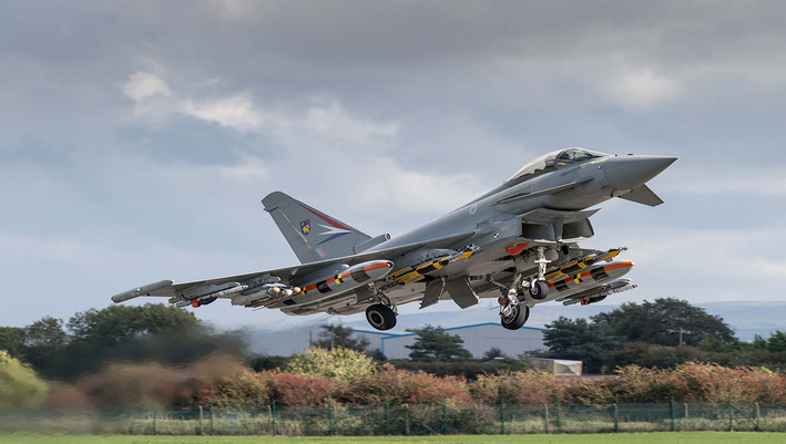 Brimstone missile trials completed successfully as part of Eurofighter Typhoon enhancement programme