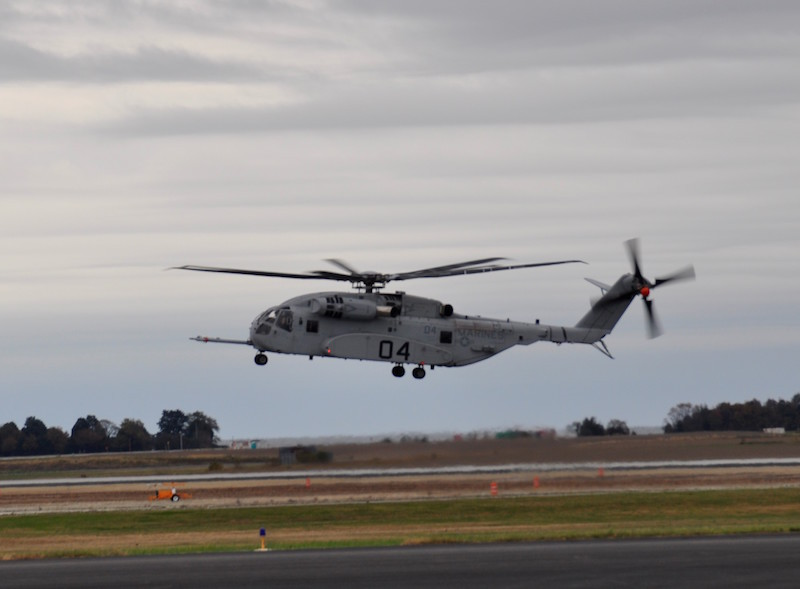 Israeli General Given Demo Flight on CH-53K Helicopter