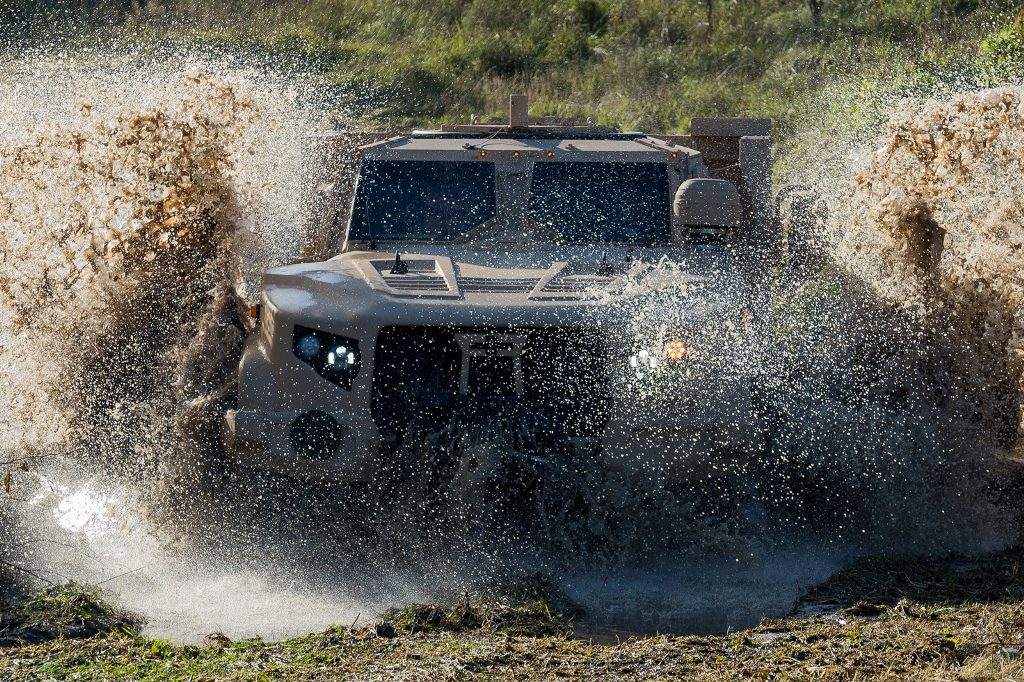 Ministry of National Defence to address the U.S. Government for an opportunity to acquire armoured all-terrain vehicles for the Lithuanian Armed Forces