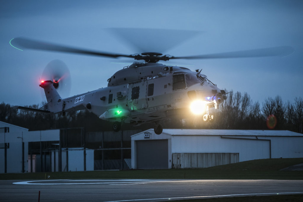 Second NH90 Sea Lion prototype completes maiden flight