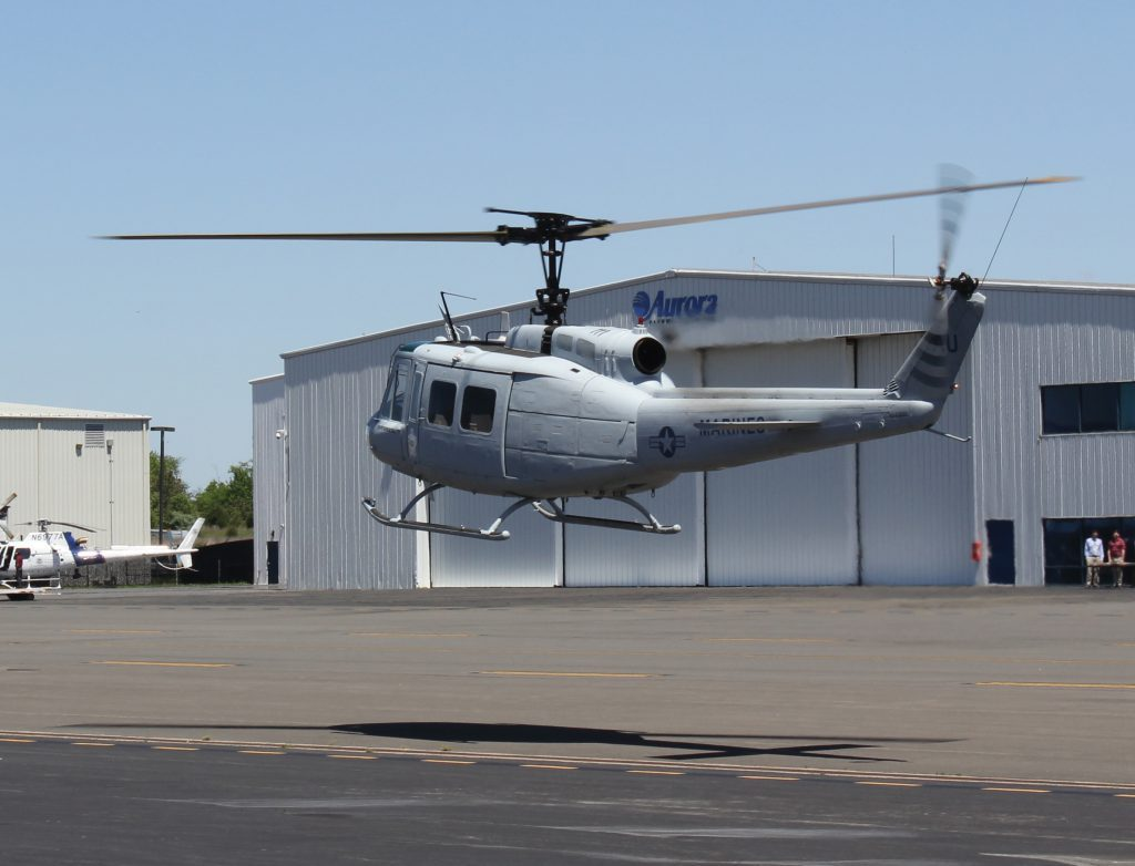 Autonomous UH-1H successfully demonstrates flight and operational capabilities at Marine Corps Base Quantico