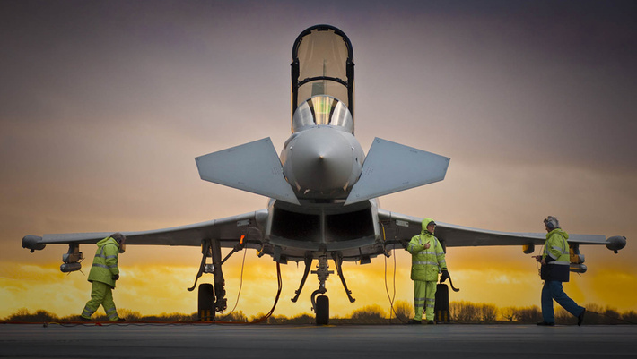 Qatar agrees contract for Typhoon aircraft