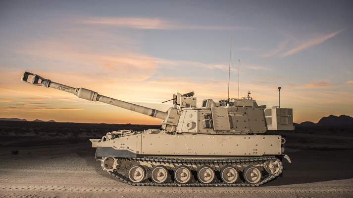 BAE Systems receives U.S. Army contract to begin M109A7 Paladin full-rate production