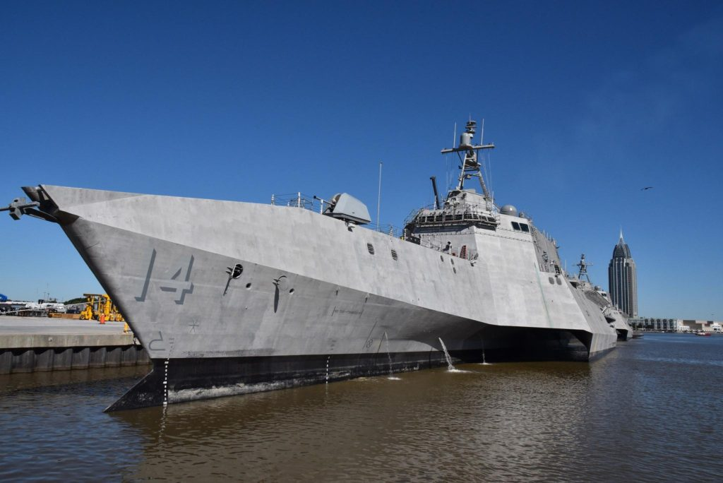Future USS Manchester (LCS-14) Completes Acceptance Trials