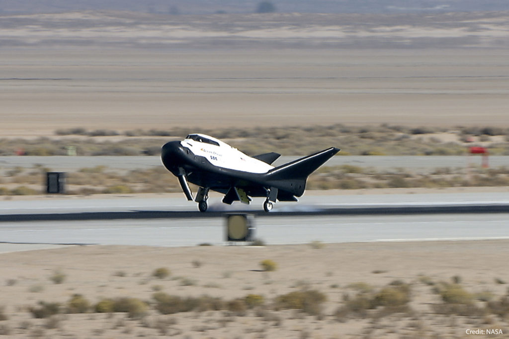 Sierra Nevada Corporation's Dream Chaser Spacecraft Passes Major NASA Milestone after Free-Flight Test