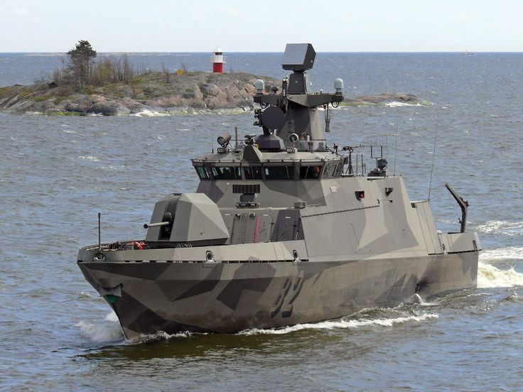 As it waits for the production of its new corvettes under the Squadron 2020 program, the Finnish Navy has awarded Patria, with Saab as the main subcontractor, a contract for the mid-life upgrade of its Hamina-class fast attack missile craft (FI Navy photo)