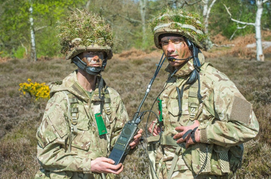 Mercury Radio System in service with the UK Army Cadet Force (Crown Copyright)