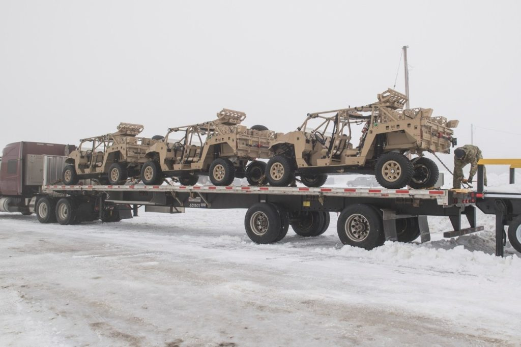 CANSOFCOM takes delivery of Ultra-Light Combat Vehicle (ULCV)