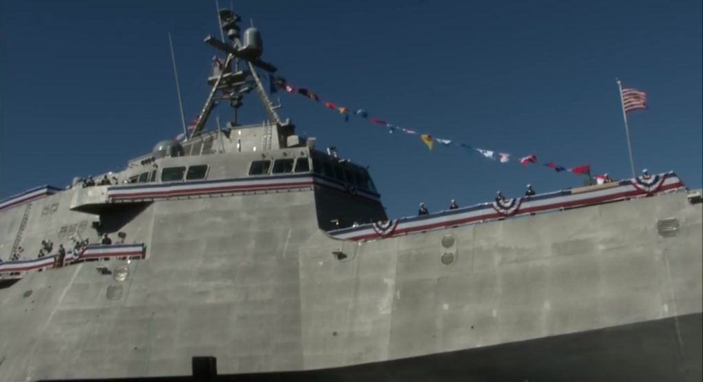 Navy commissioned Littoral Combat Ship Omaha