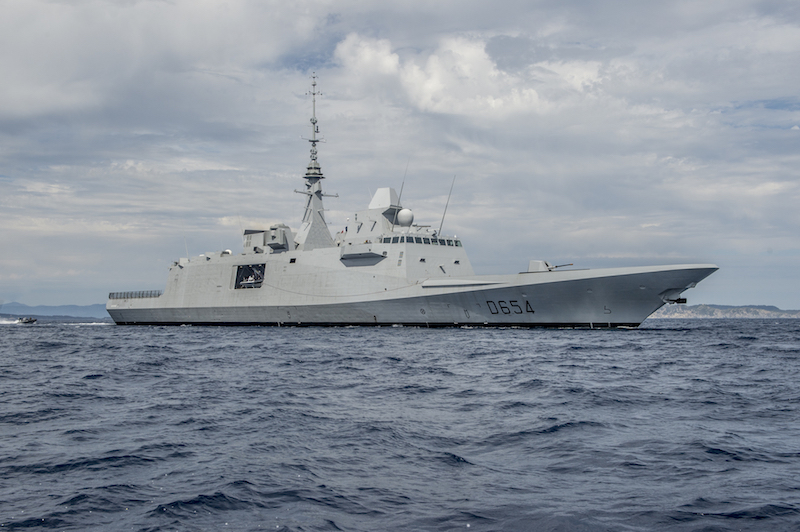 The D654 Auvergne after its commissioning. Under current plans, the French navy will have received six FREMM frigates in anti-submarine configuration by 2019. Another three will follow by 2022, two of them with enhanced anti-air capabilities (French navy photo)