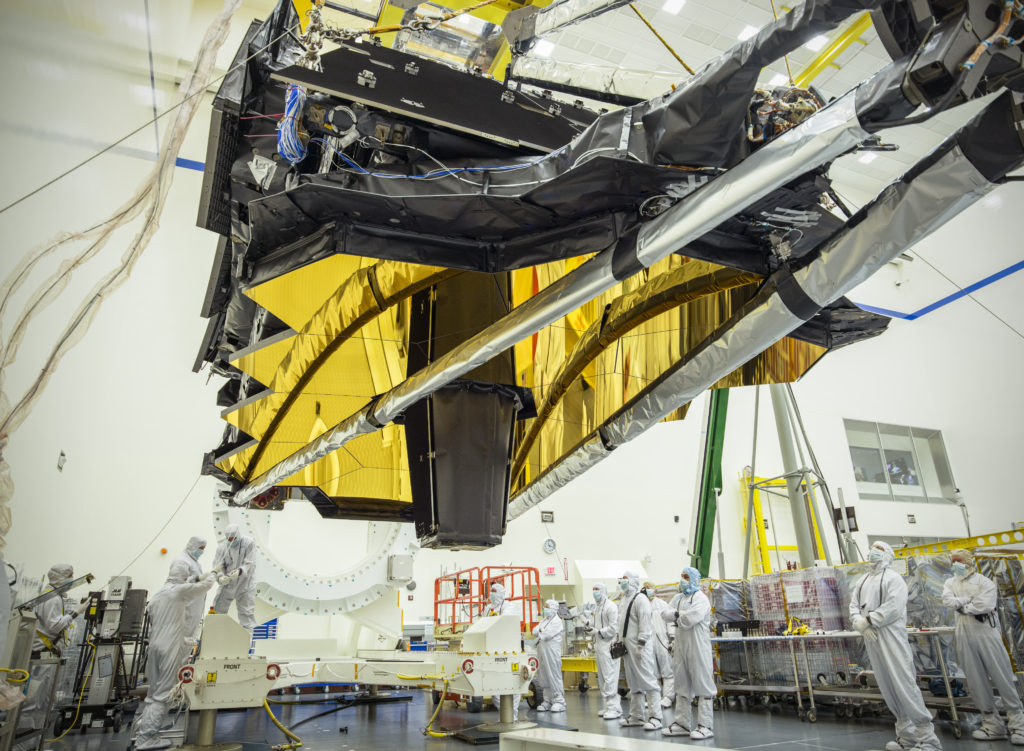 NASAs James Webb Space Telescope Optics and Science Instruments in Northrop Grumman's Clean Room