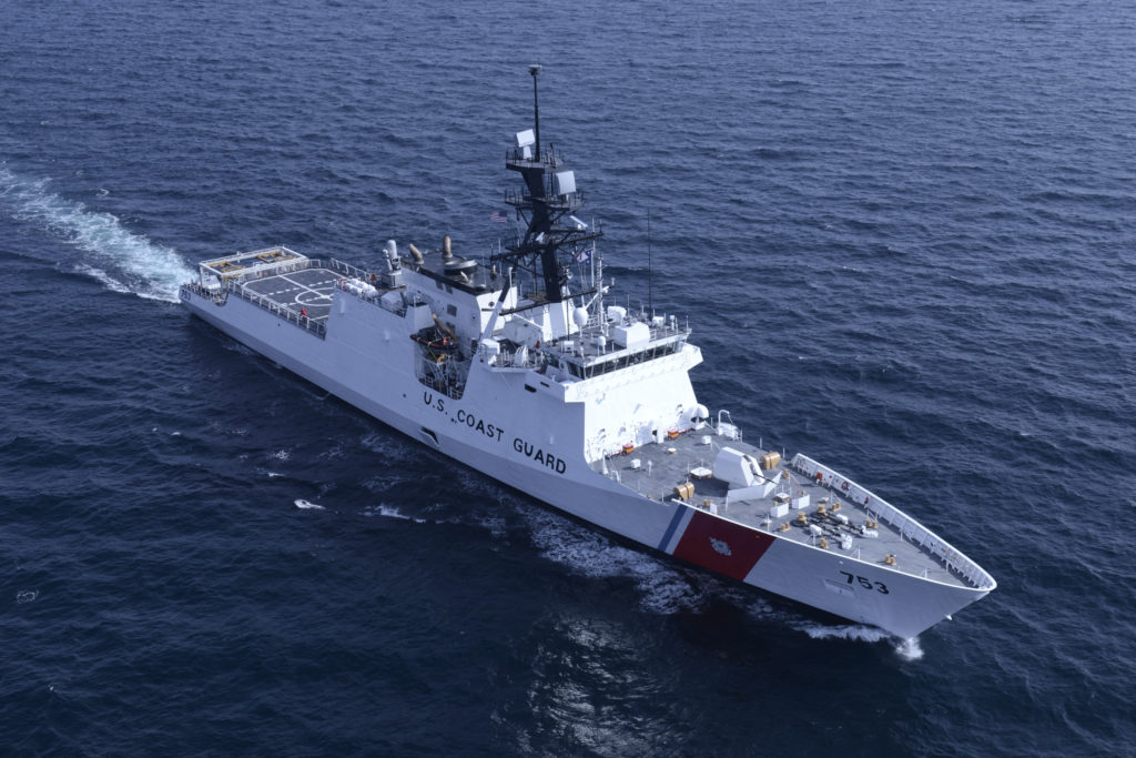 Huntington Ingalls Industries awarded $94 million advance procurement contract for a 10th National Security Cutter