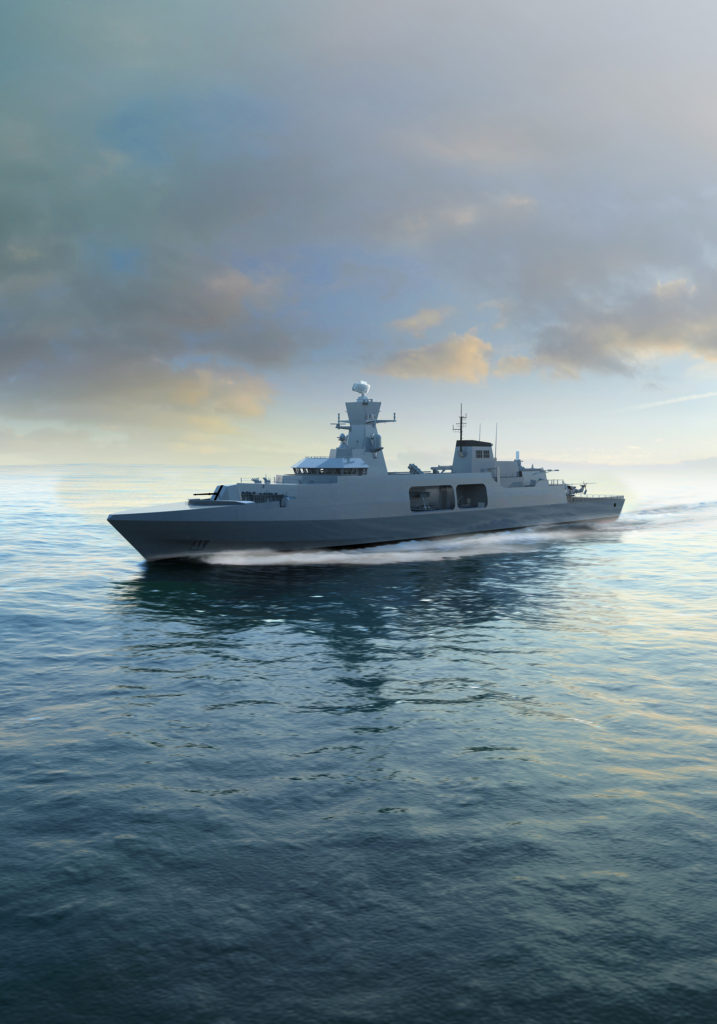 BAE Systems Type 31e frigate
