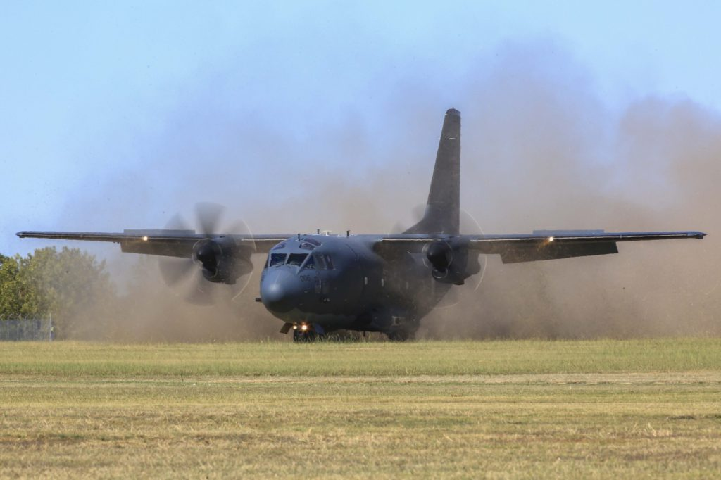 Delivery of the C-27J Spartan battlefield aircraft completed
