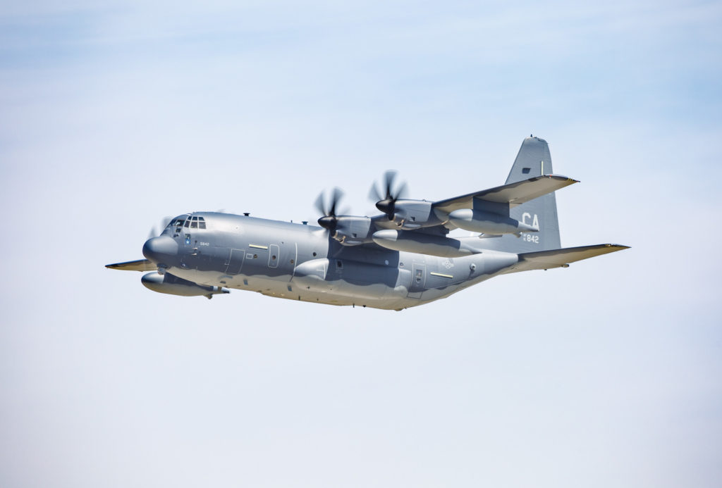 Lockheed Martin delivers first HC-130J Combat King II to California Air National Guard