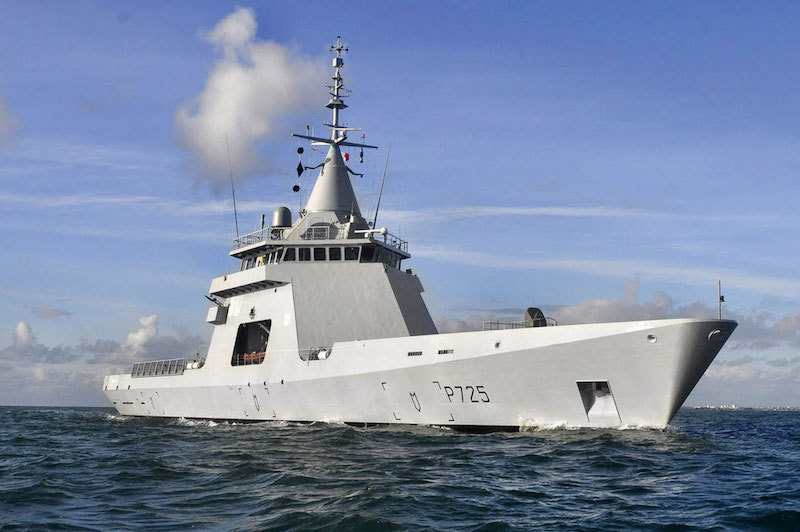 Originally built as a private venture by France's Naval Group, the L'Adroit was operated by the French Navy on a cost-free lease to validate the design, and has since been sold to Malaysia, Egypt and a sale of four units to Argentina is imminent (FR navy photo)