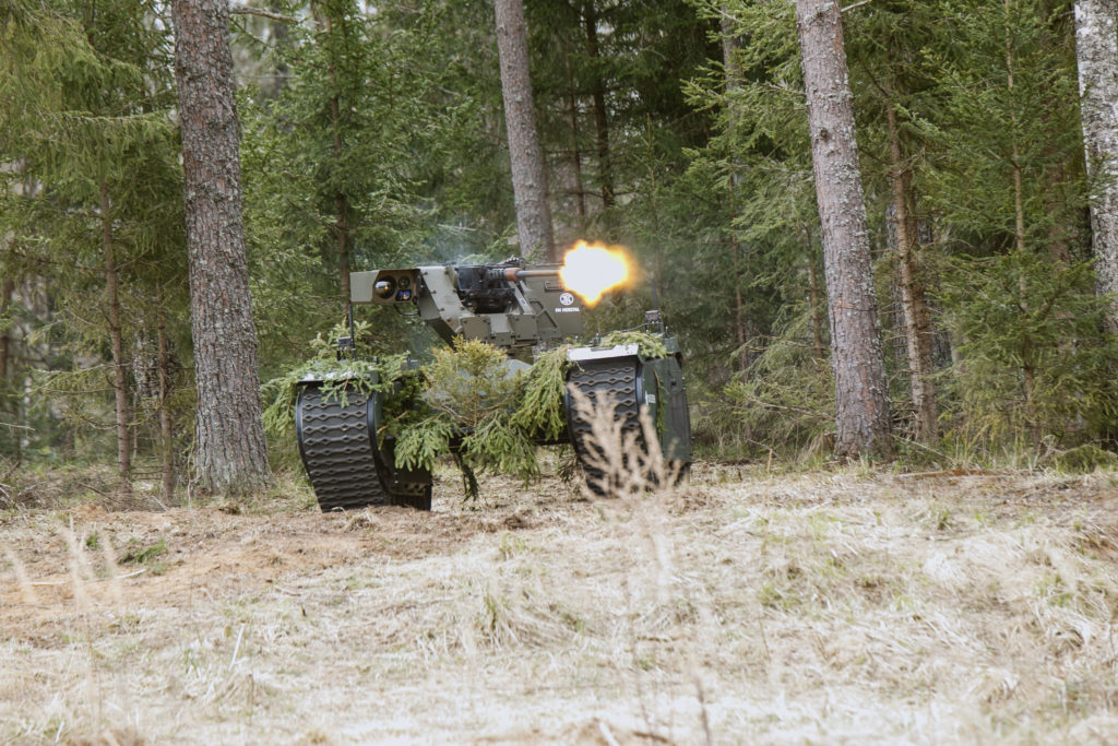 Estonian defence industry companies demonstrated comprehensible defence solutions in a military simulation exercise