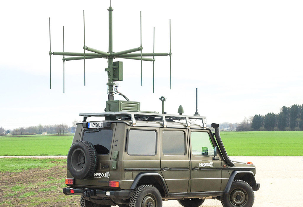 Hensoldt presents «TwInvis» Passive Radar for the first Time in live Operation