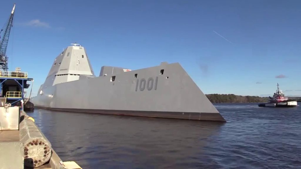 Navy Accepts Delivery of Future USS Michael Monsoor (DDG-1001)