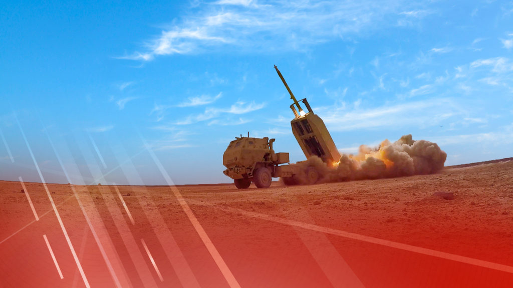 Lockheed Martin received a $828 million not-to-exceed contract from the U.S. Army for Guided Multiple Launch Rocket System rockets and associated equipment