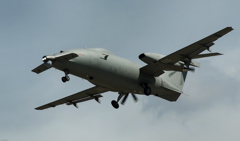 Piaggio said the test is aimed at experimenting the satellite control of a Medium Altitude, Long Endurance drone, designed for long endurance flights at medium altitudes (Piaggio file photo)