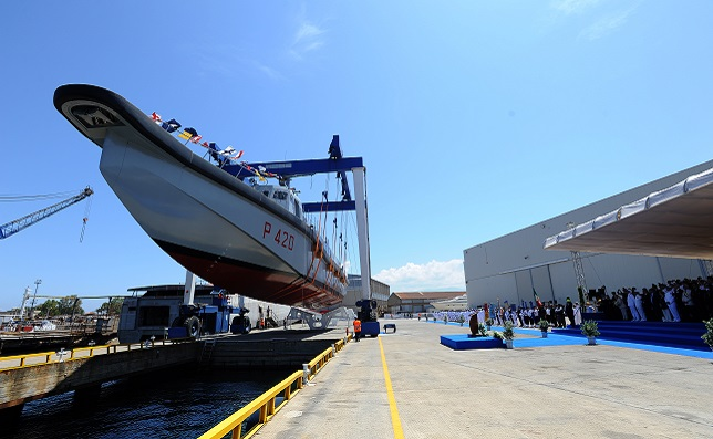 Messina, the «Angelo Cabrini» ship launch