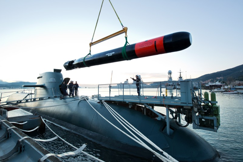 Leonardo to Supply the Next-Generation Black Shark Advanced Torpedo to the Italian Navy