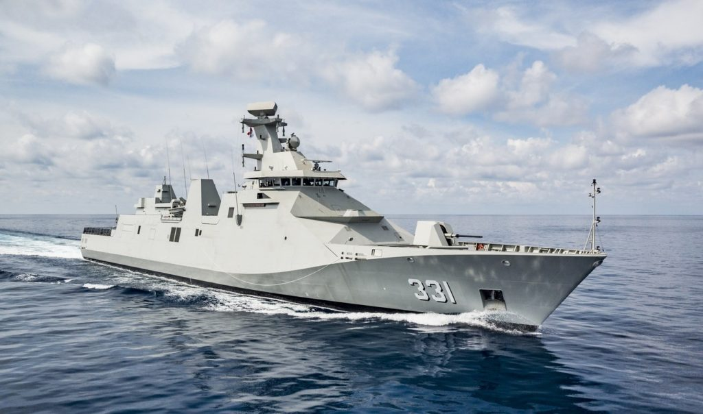 Damen and Saab announce partnership to participate on the tender for the Tamandaré Class Corvette