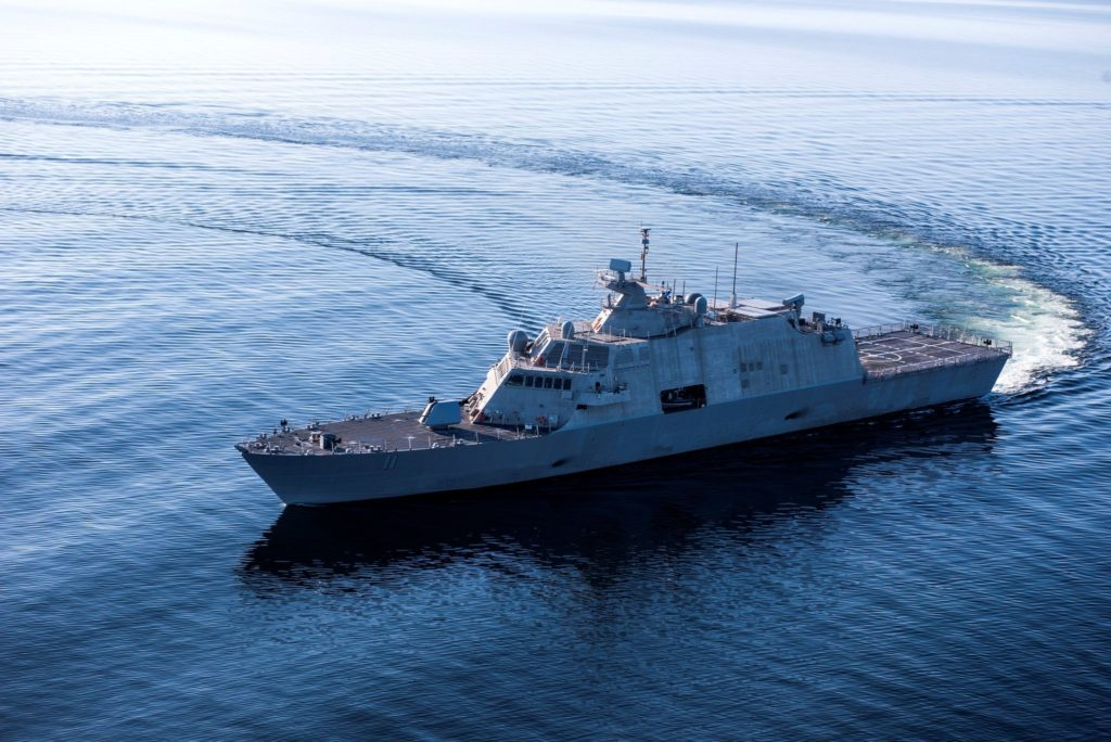 LCS-11 (Sioux City) completed Acceptance Trials in Lake Michigan