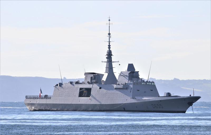 France receives Bretagne, its fifth FREMM frigate