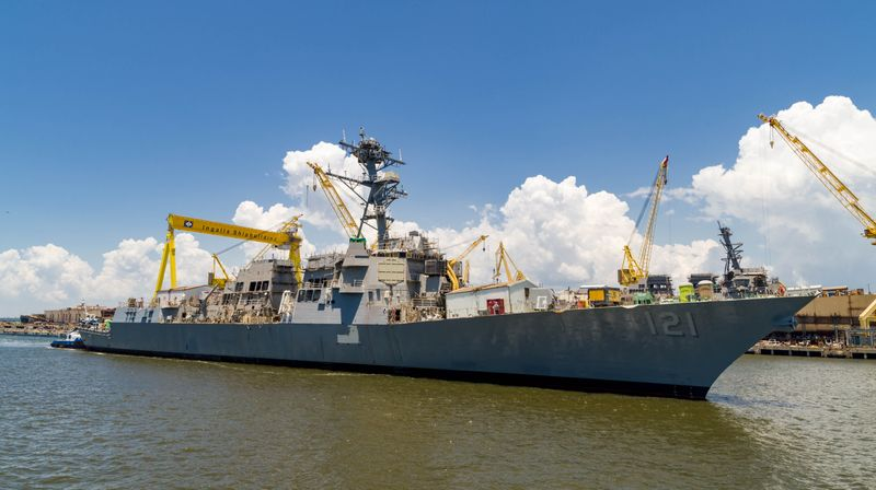 U.S. Navy Launches Future USS Frank E. Petersen Jr.