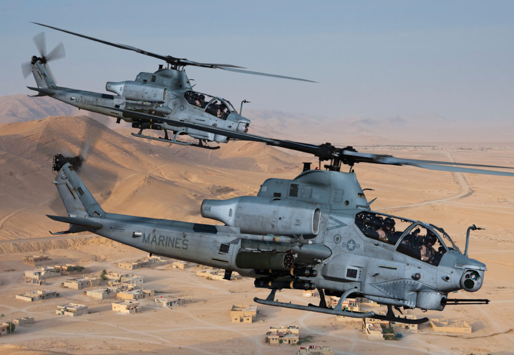 The Bell AH-1Z is purpose built to meet the stringent performance and readiness requirements of the USMC