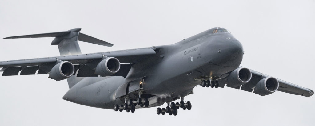 Lockheed Martin delivered the 52nd C-5M Super Galaxy
