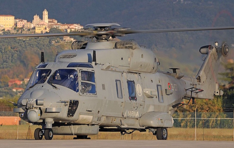 Qatar's contract for 28 NH90 helicopters has come into force after Qatar made the first down payment on its $3.4 billion value; the order covers 16 TTHs tactical transports and 12 NFHs naval helicopters (MMI photo)