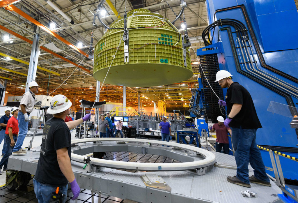 Lockheed Martin Begins Final Assembly on NASA's Orion Spaceship That Will Take Astronauts Further Than Ever Before
