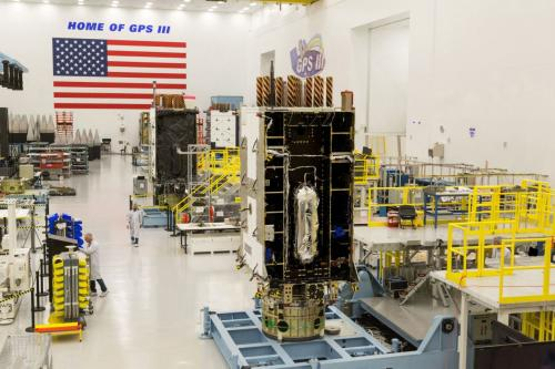 The fourth Lockheed Martin-built GPS Ill satellite is fully integrated