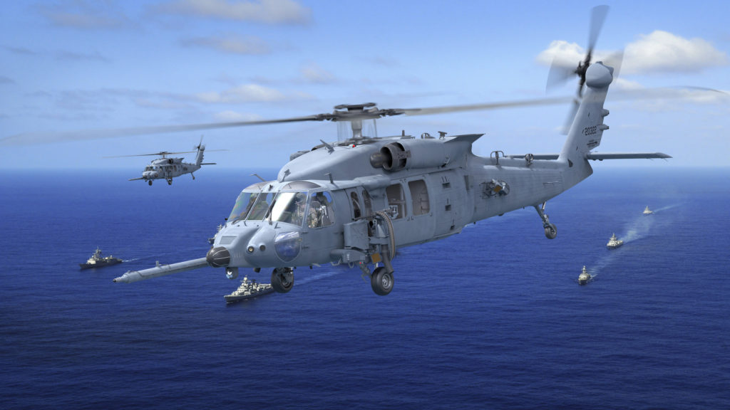 Sikorsky HH-60W Combat Rescue Helicopter Weapons System, Operational Flight Trainers in Final Assembly