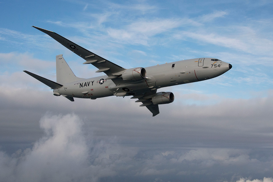 State Department Notifies Congress of Potential $2.1B P-8A Sale to South Korea