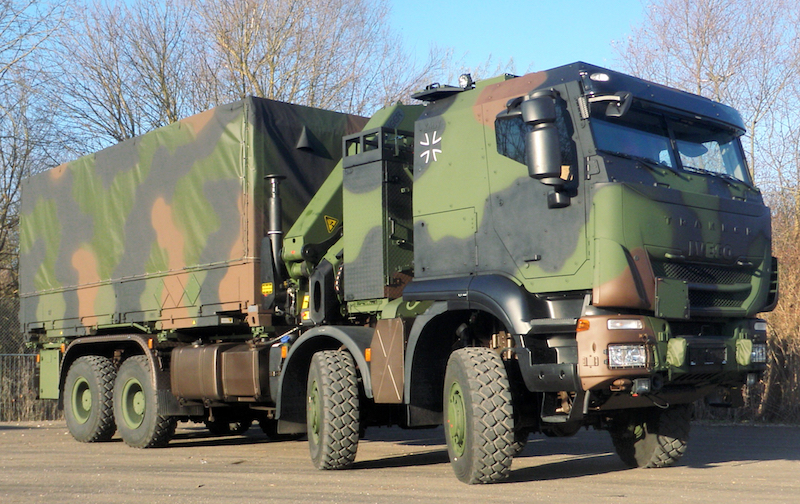 Iveco Defence Vehicles delivers the hundredth Trakker GTF 8×8 to the Bundeswehr